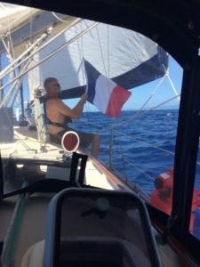 Flying French Flag The Adventure Travelers