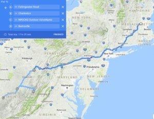 West Virginia The Adventure Travelers