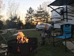Melissa Campfire The Adventure Travelers