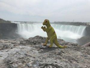 Dino Niagara Falls The Adventure Travelers