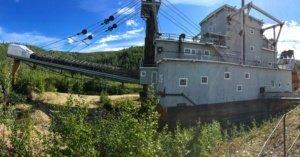 Gold Dredge of Dawson City The Adventure Travelers
