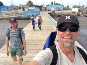 Tennis on Dock The Adventure Travelers