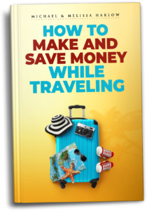 How to Make and Save Money While Traveling 3D Book
