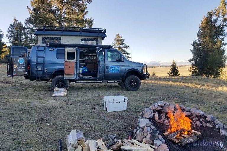 2014 Sportsmobile EB350 4X4 Campervan RV Rental Denver