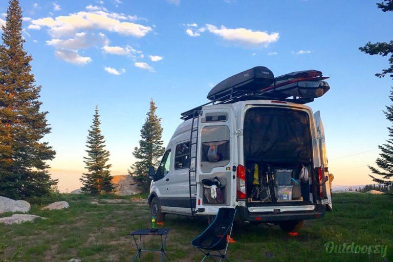 Adventure Van Packed
