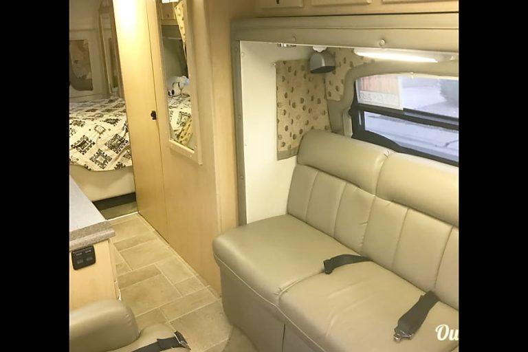 Coach House 4X4 RV Rental Denver Interior