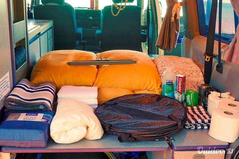 Stocked Kauai Camper Van