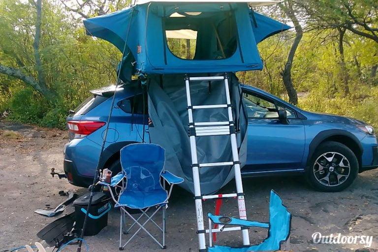 Subaru Crosstrek tent
