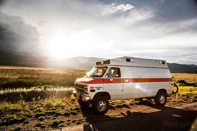 The Vanbulance 4x4 CO Dream Van RV Rental Denver