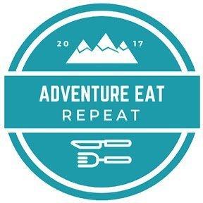 Adventure Eat Repeat Logo The Adventure Travelers