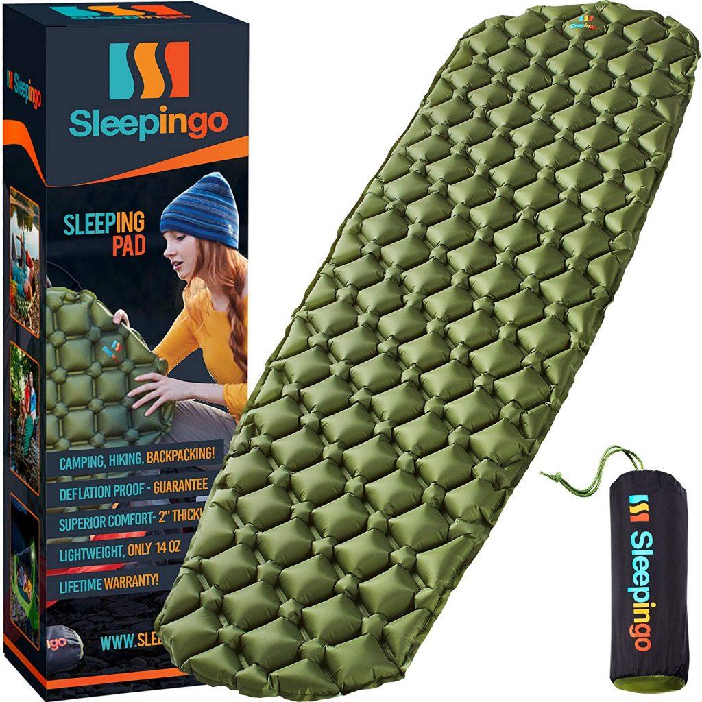Camping Sleeping Pad Mat The Adventure Travelers