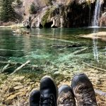 Chillin at Hanging Lake Colorado The Adventure Travelers