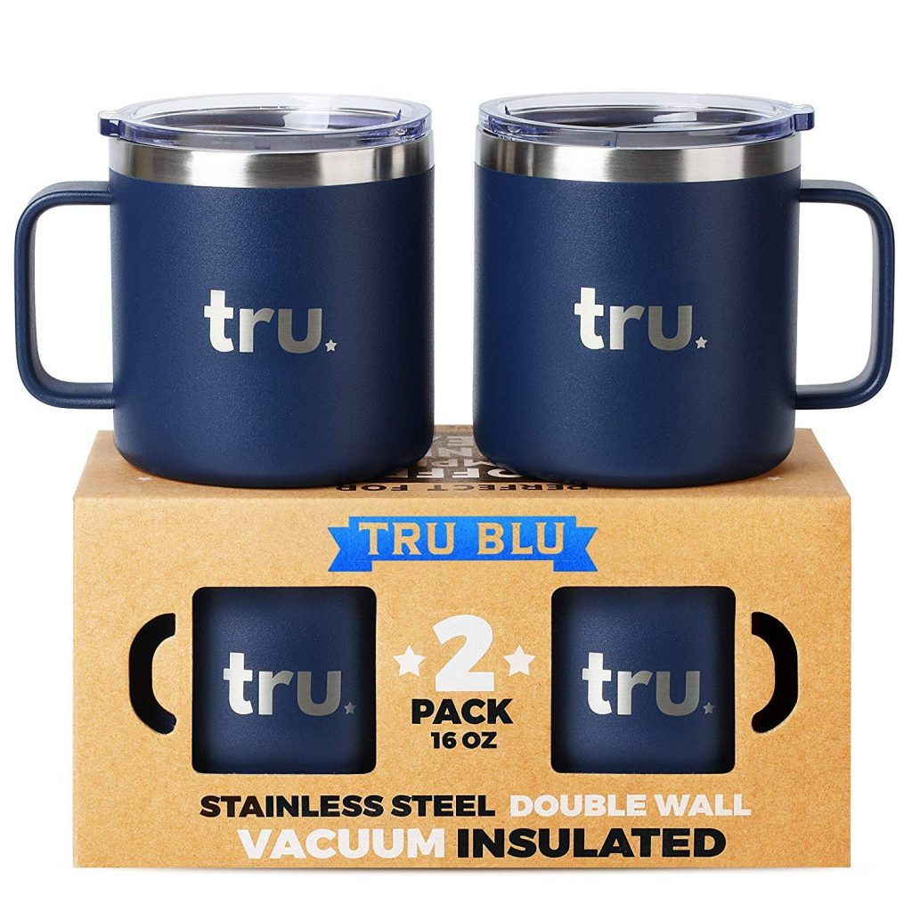 Large Camping Mugs with lids The Adventure Travelers