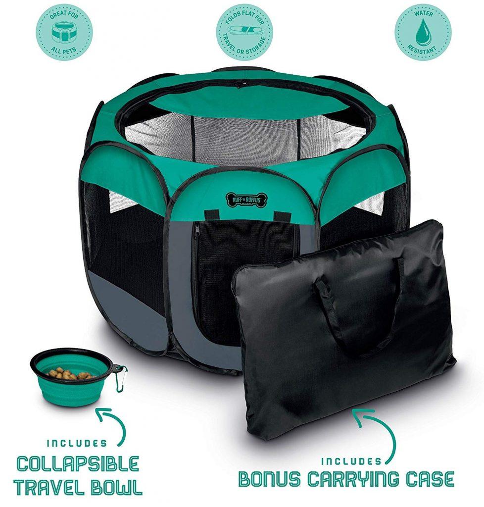Portable Foldable Pet Playpen The Adventure Travelers
