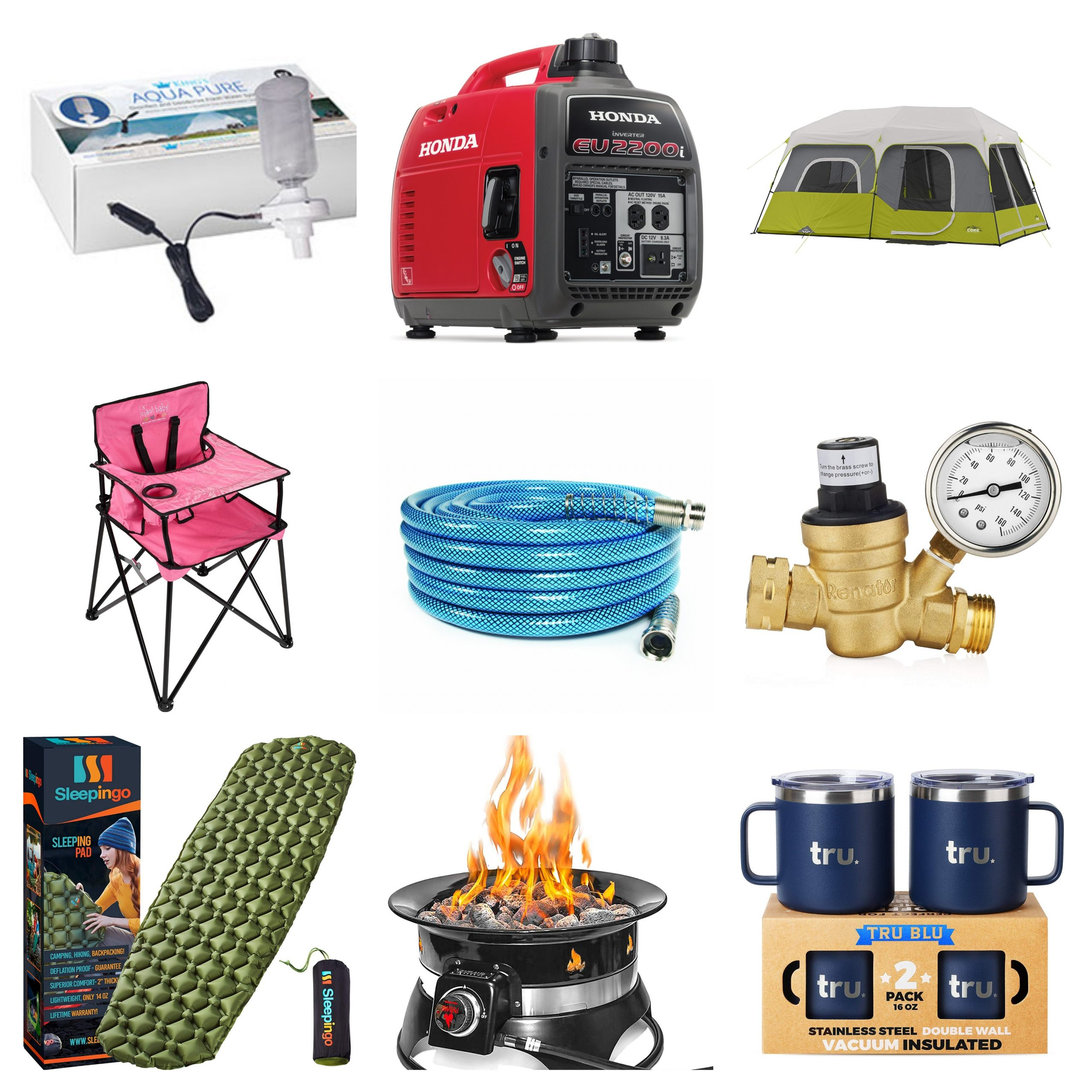 RV Accessories Collage The Adventure Travelers scaled