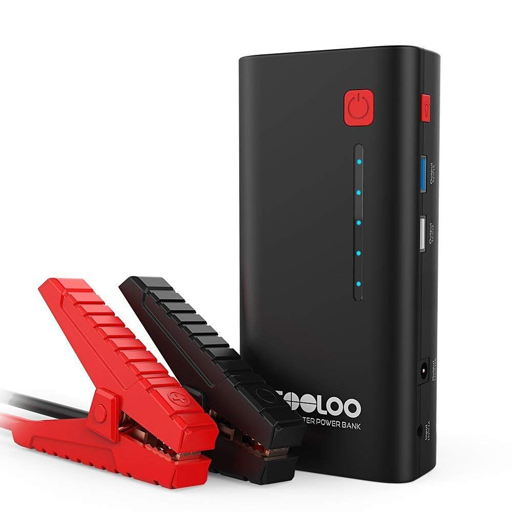 SuperSafe Car Jump Starter with USB Quick Charge The Adventure Travelers