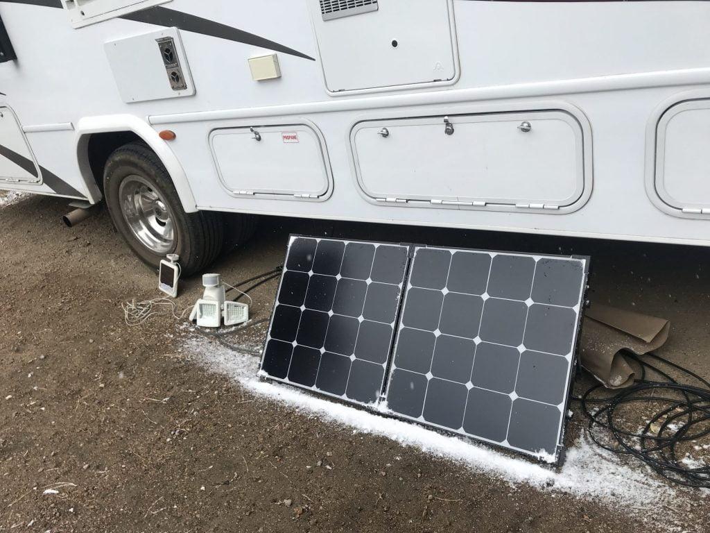 Solar Panel Suitcase The Adventure Travelers