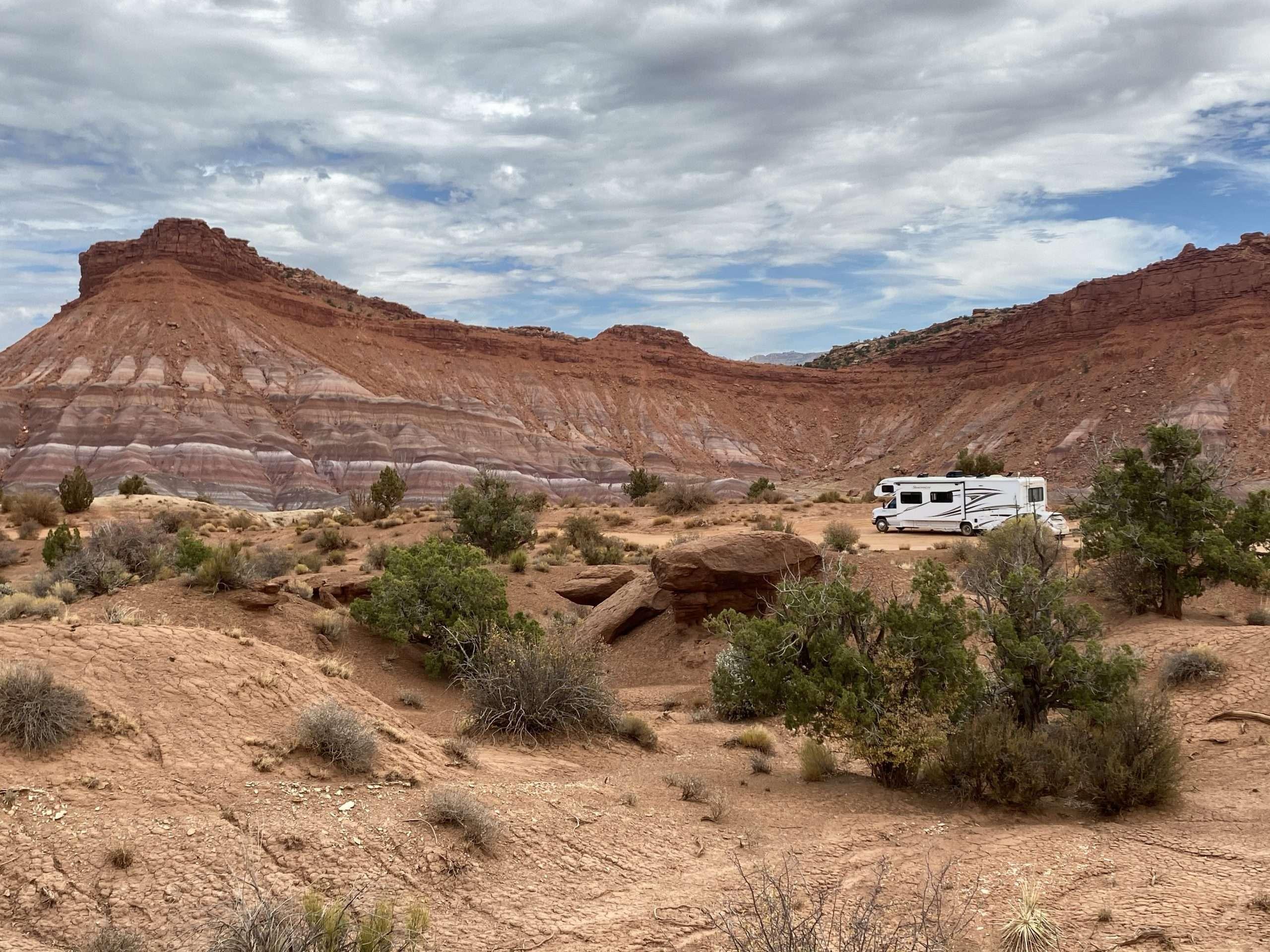 Best RV Boondocking Spot in Utah The Adventure Travelers
